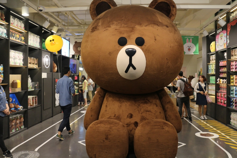 Line Friends - Sinsa, Gangnam, Seoul - The Nerdventurists