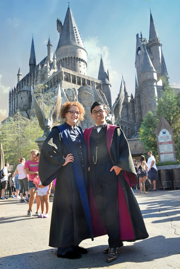 A Muggle's Guide to the Wizarding World of Harry Potter: Hogwarts and The Forbidden Journey - The Nerdventurists - www.nerdventurists.com